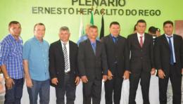JOLMACIO FILHO ASSUME PRESIDÊNCIA DA CÂMARA MUNICIPAL DE CATURITÉ, BIÊNIO 2017/2018.